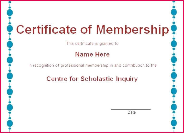 free sample member certificate template llc membership