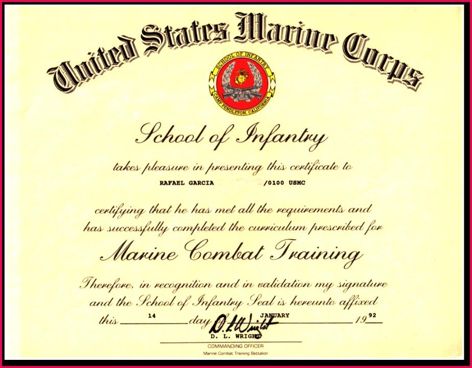 Promotion Warrant Template Usmc Lovely Certificate Appreciation Usmc Canasrgdorfbib