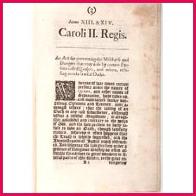 Mischiefs and Dangers Involving Quakers
