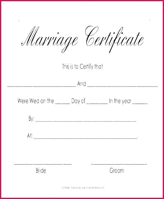 printable certificate mexican marriage template ppt keren gratis