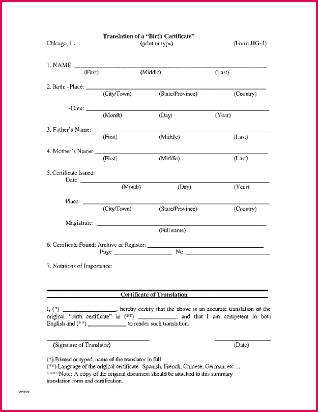 marriage certificate translation template divorce english to italian marria