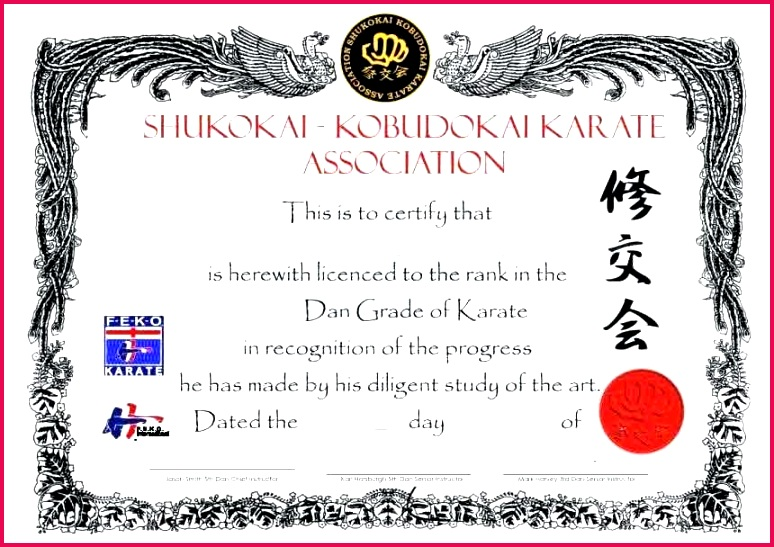 martial arts certificate template awesome karate projects to try creative powerpoint templates ideas martial arts t certificate template