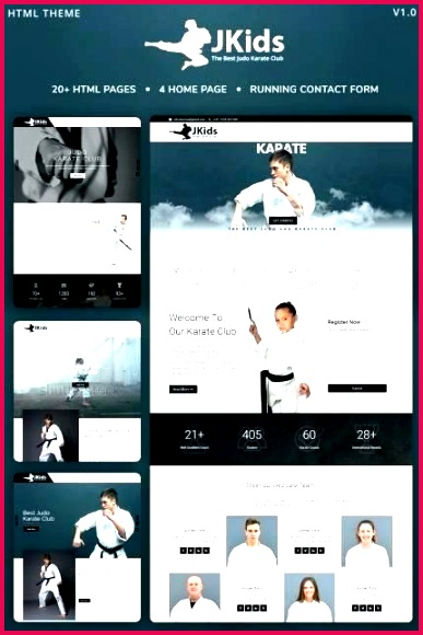 website templates karate martial arts custom template free by
