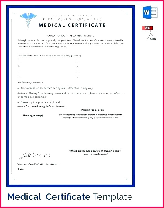 new fake document templates medical certificate good health sample doctors template free printable example of c