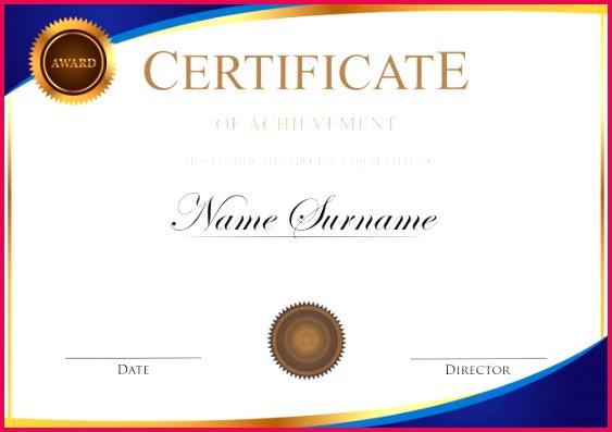 certificate template 60