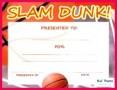5 Microsoft Basketball Certificate Templates