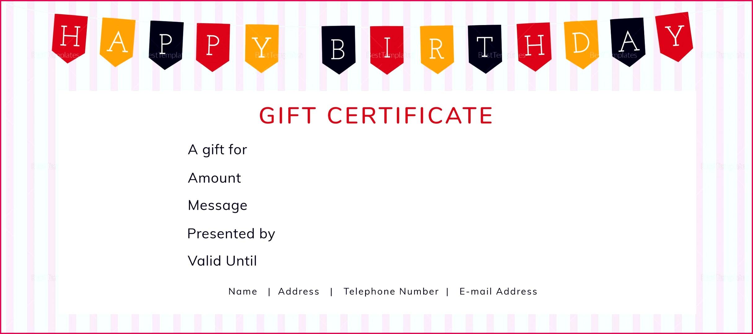 004 template ideas birthday t voucher word ulyssesroom best of happy certificate