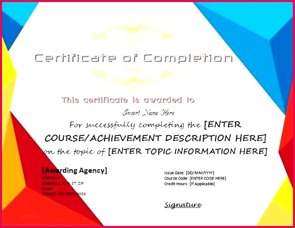 certificates of pletion templates for ms word professional certificate course template microsoft 2010 c