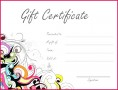 7 Microsoft Gift Certificate Template Download