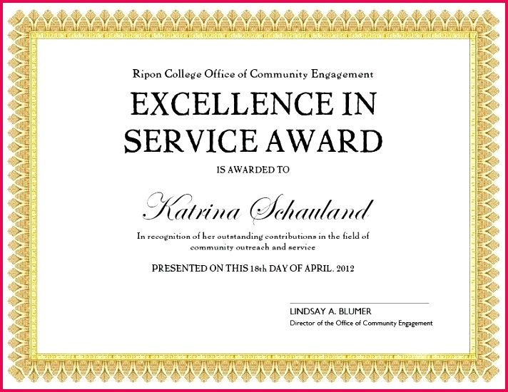 unusual service certificate template photos themes sample award certificates recognition of long