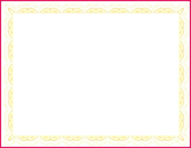 certificate border template word borders pics templates flower frame blank microsoft optional illustration page templa