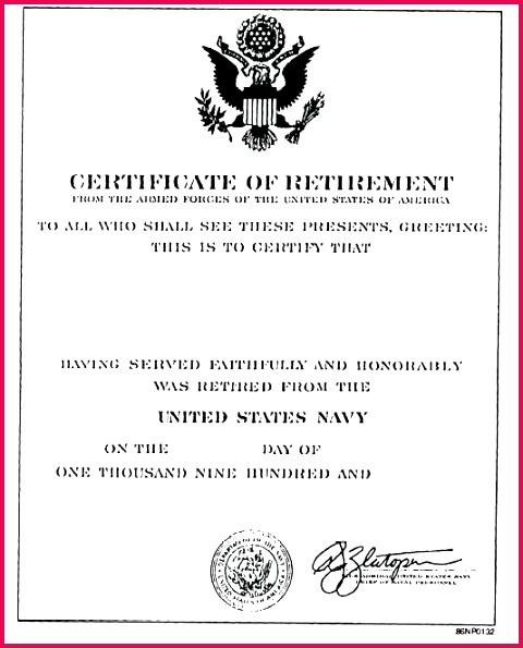figure certificate of r appreciation retirement on army letter example military