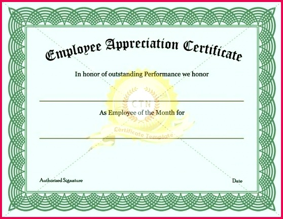 employee appreciation certificate templates employment letter sample emails