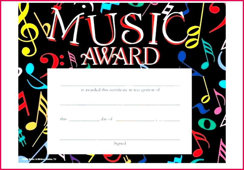 music in motion certificate template music in motion colorful award choir certificate template choir certificate template free