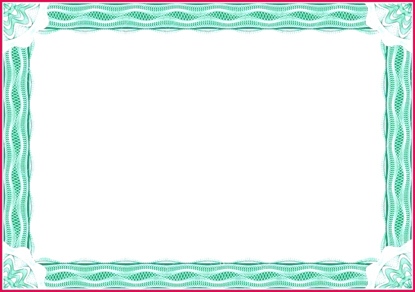 certificate border design templates fancy pertaining to blank with borders no d