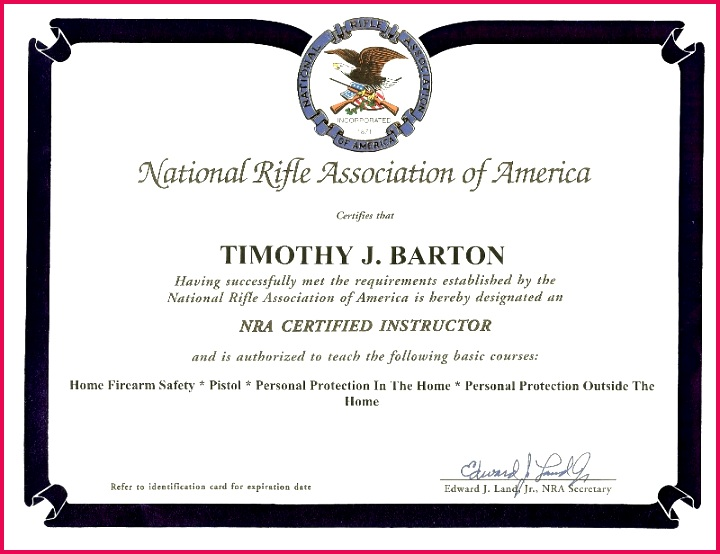 nra safety course certificate awesome concealed gun carry in illinois iowa quad cities firearms training collection of nra safety course certificate