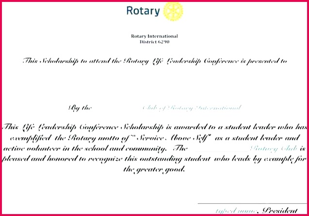 leadership conference scholarship certificate template for page 1 student award the top templ