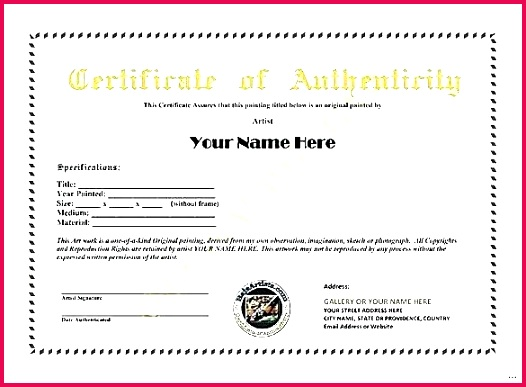 diamond certificate of authenticity template free printable templates letter word cer