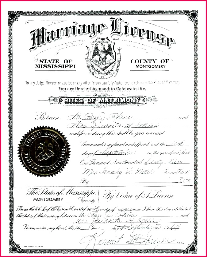 best of keepsake marriage certificate template opinion resume wedding license examples
