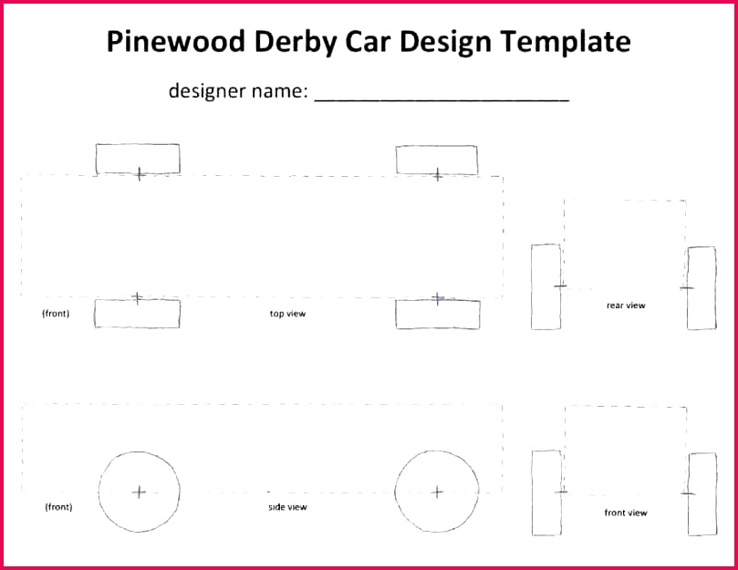 free pinewood derby templates pine wood template pdf