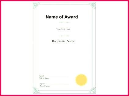 portrait certificate template powerpoint 1