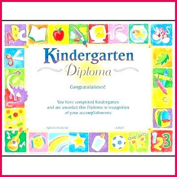 creative page advice pre k graduation certificate template printable kindergarten diploma