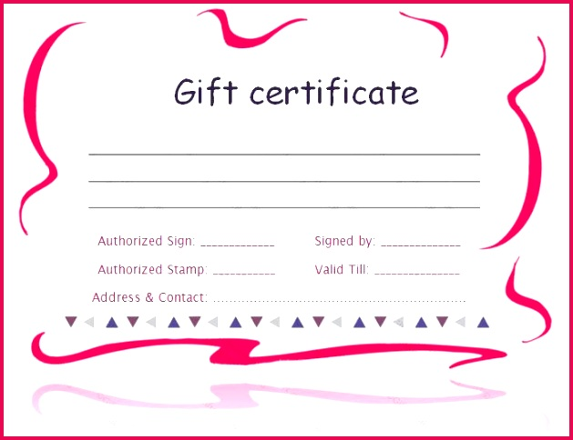 6 printable avon gift certificates templates 97037