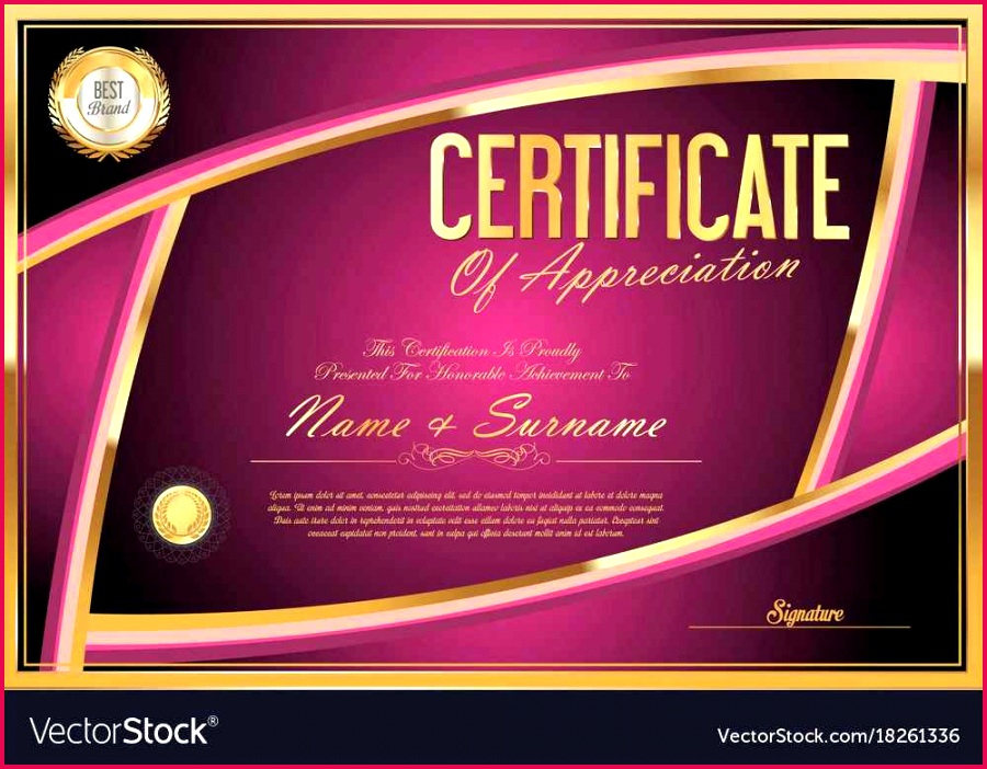 free vector certificate templates luxury free certificate vector lovely resume template award template 0d of free vector certificate templates