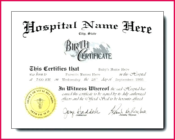 birth certificate template printable home a finest blank sample for new born baby puppy boy