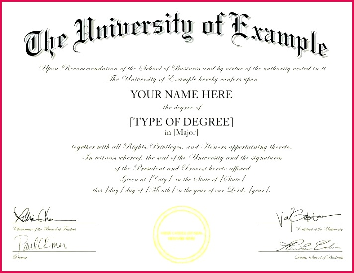 free diploma templates lovely certificate template college word fake university real high school