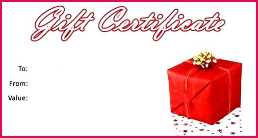 Free Gift Certificate Template Birthday Voucher Uk Templates Word Australia