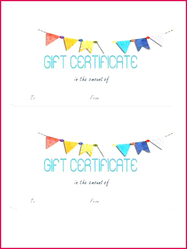 online restaurant t certificates printable generic certificate blank card template birthday free templates vouchers