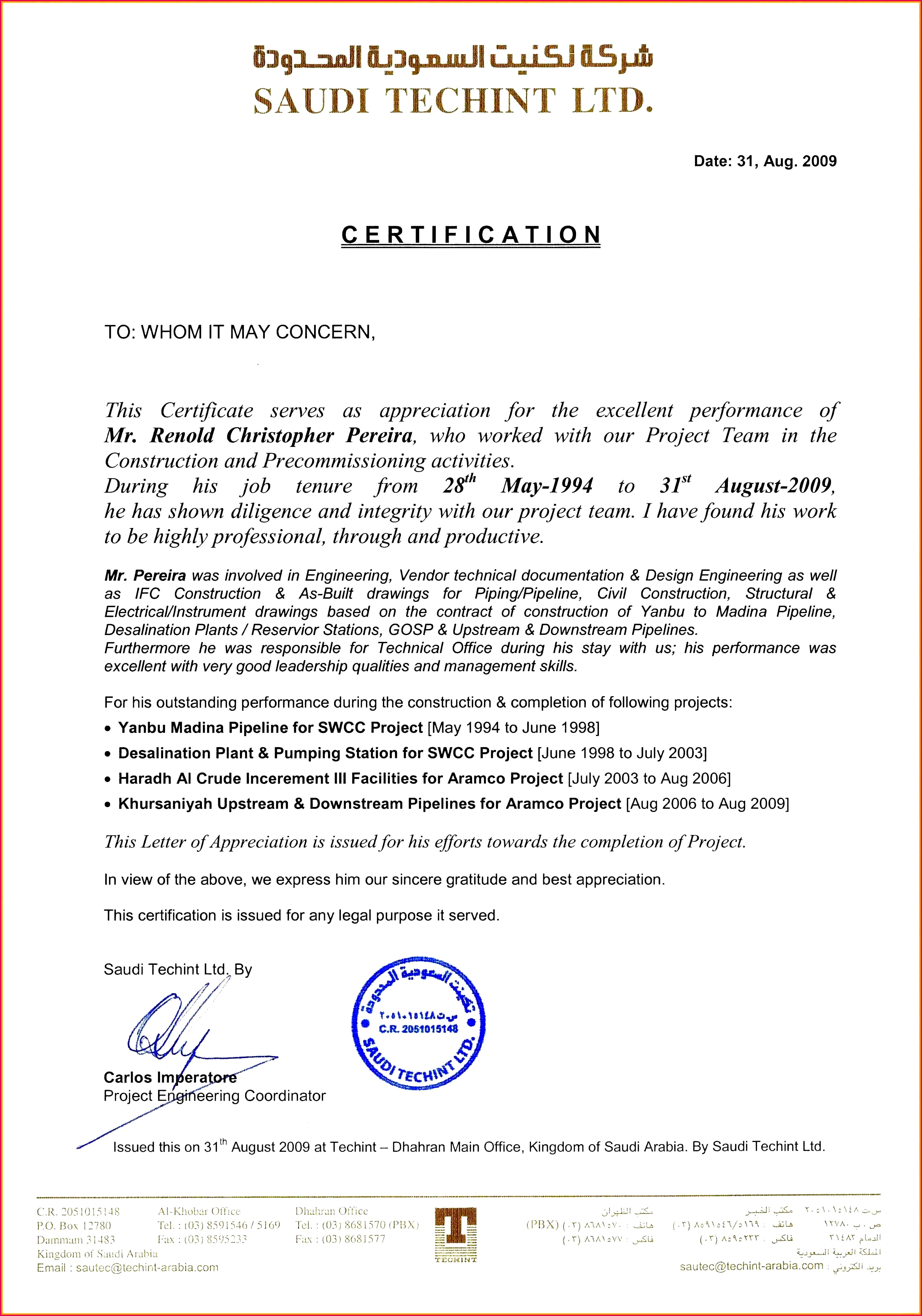Jct Practical pletion Certificate Templat Installation pletion Certificate Sample Fresh Construction Certificate Pletion Template Image Collections