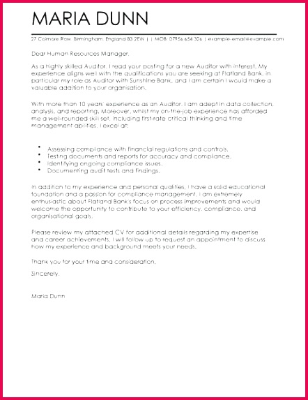 pliance letter template auditor cover letter template cover letter templates examples 407 pliance letter template