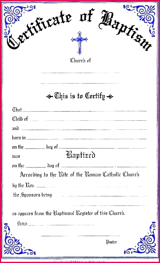 christian certificate templates baptismal template christening free award baptism ce