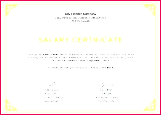 salary increase letter template from employer to employee statement certificate of employment form