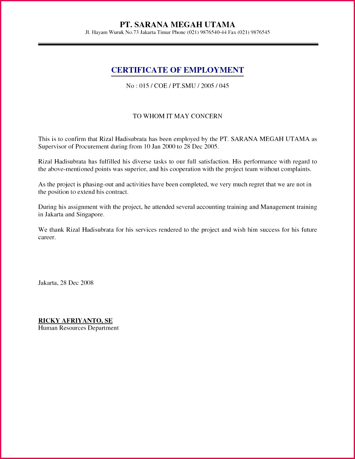 free salary certificate letter valid free proof employment to whom it may concern letter salary certificate