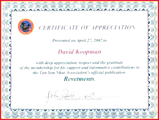 free certificate appreciation award wording gallery of mple templates sample template