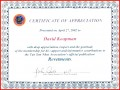 7 Sample Certificate Of Appreciation Wording