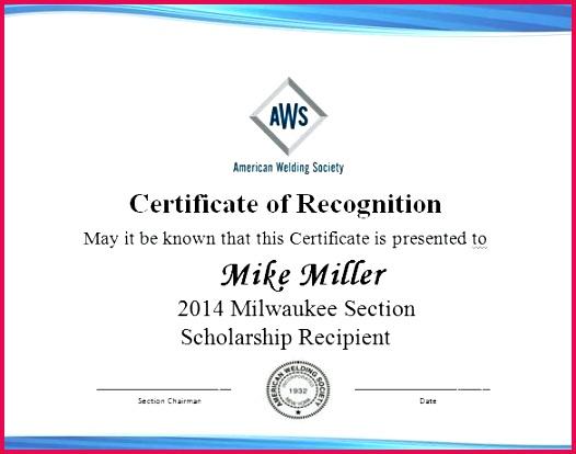 memorial scholarship certificate template award wording free box design templates illustrator