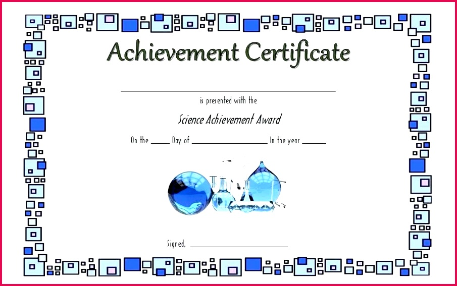 printable science certificates templates certificate template fair participation free