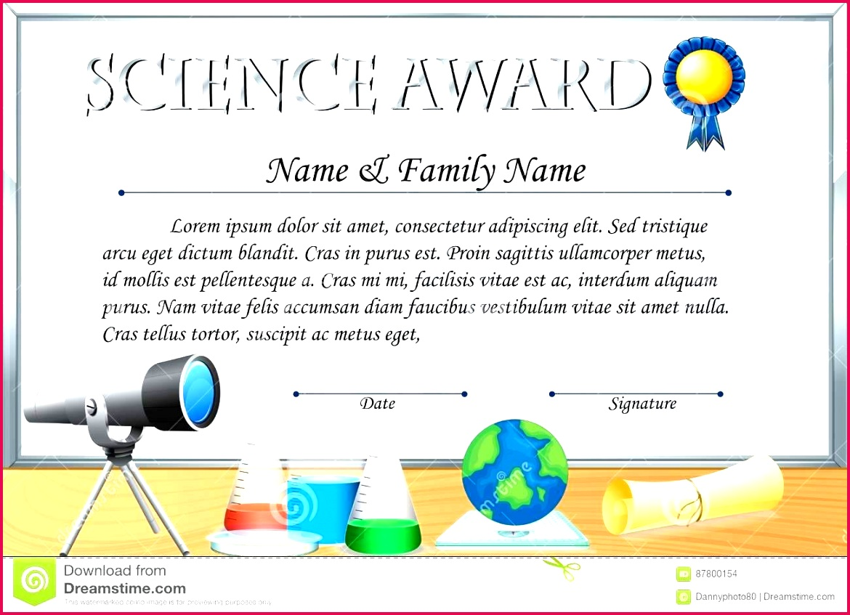 free science award certificate experiment template achievement science fair participation certificate free editable
