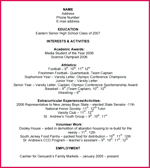 college application resume template sample 8 free samples examples format varsity letter certificate le
