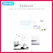 Fedecor Interior Design Multipage Clean