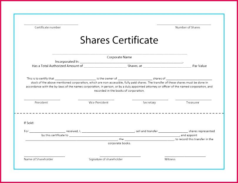 free stock certificate template shareholder register usa