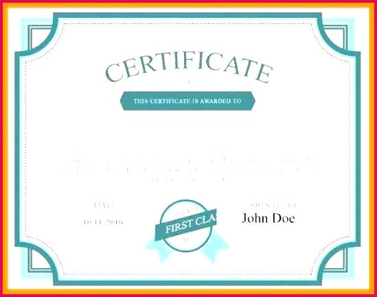 shareholder certificate