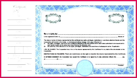 corporation stock certificate template blank share certificates meaning in puter ontario format certif by blank share certificates