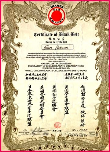 taekwondo black belt certificate template taekwondo karate black belt certificate templates l ddcd23a4bb919aee