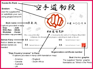 aikido certificate templates and modern black belt certificate template s professional resume karate of aikido certificate templates