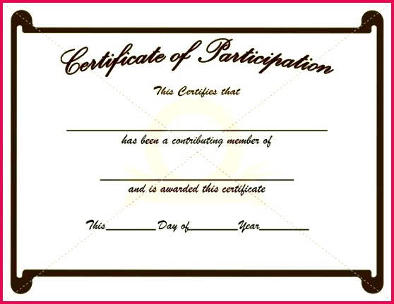 participation certificate template spelling bee award templates free